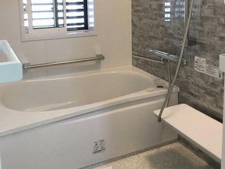 バスルームリフォーム 防アリ対策をした暖かく安心して使用できるお風呂